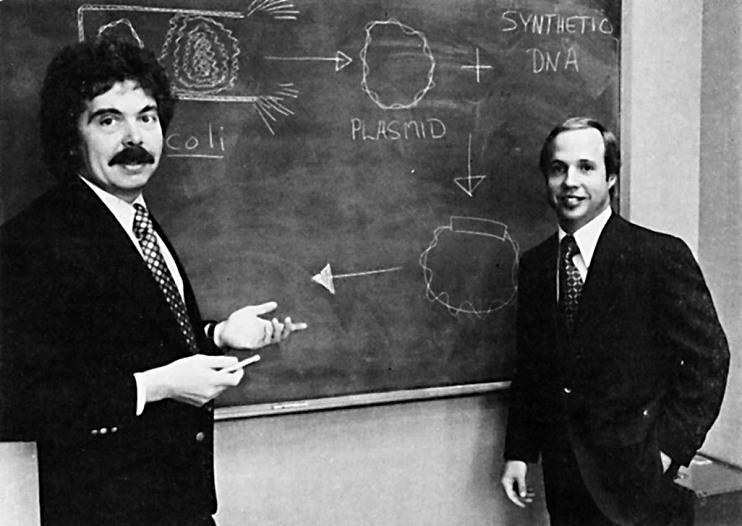 Herbert Boyer and Robert Swanson, 1936– and 1947–1999