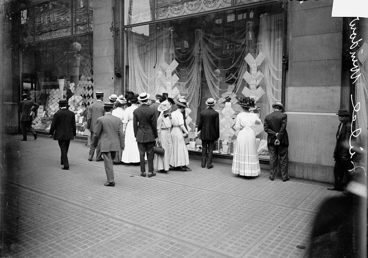 Marshall Field department store, Chicago, Illinois, 1909