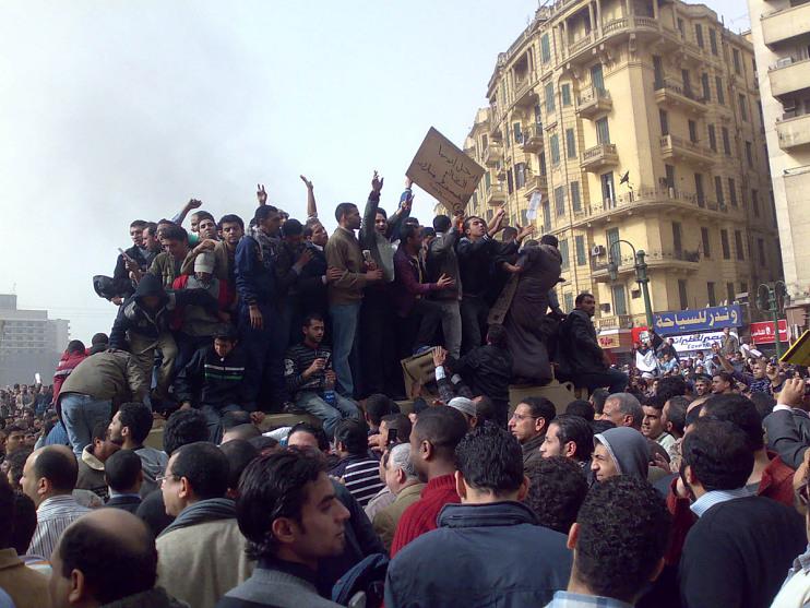 Tahrir Square, Cairo, Egypt, 2011