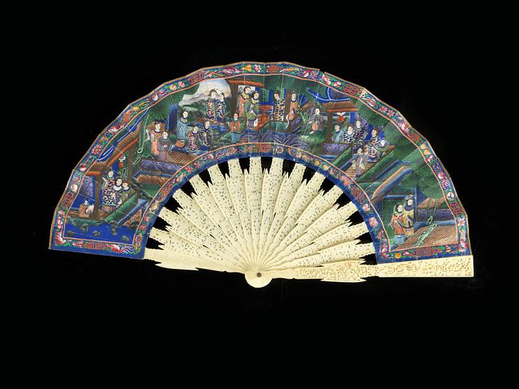 Fan, mid-1800s