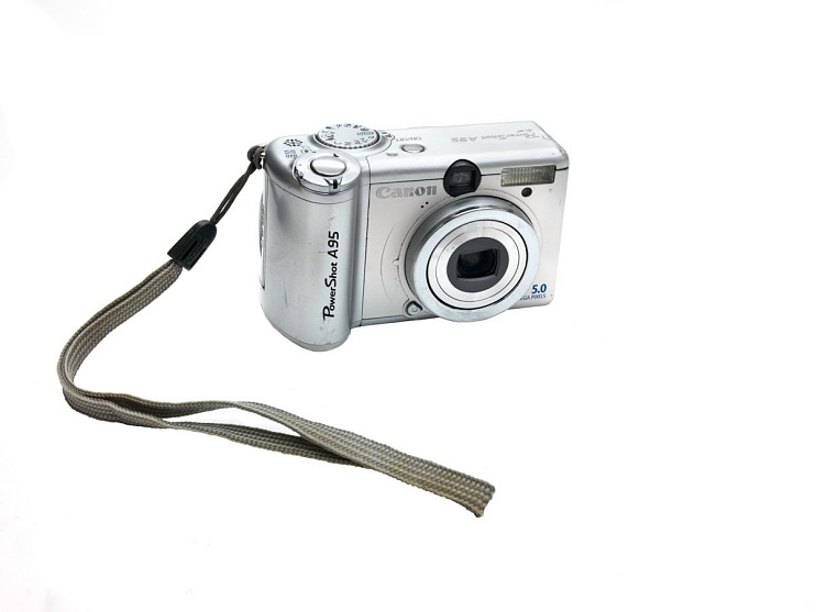 Canon Powershot digital camera, about 2004