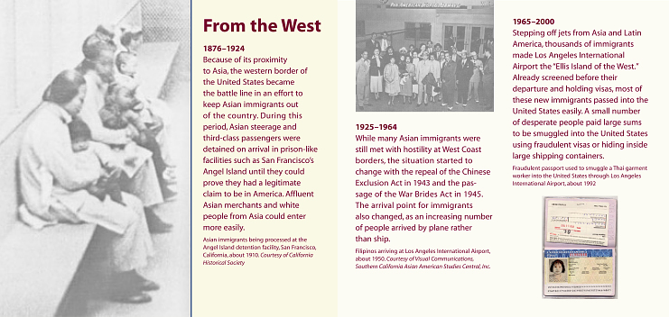 Immigration on the United States western border