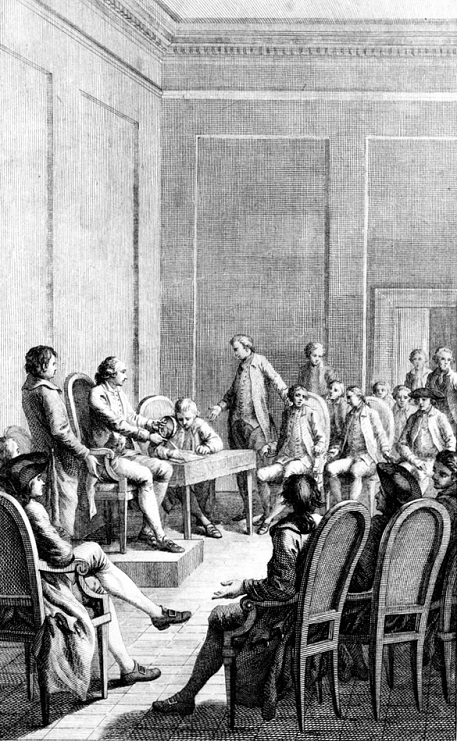 """Premiere Assemblée du Congrès"" (First Meeting of the Continental Congress), 1782"
