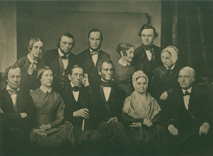 Photograph of the Pennsylvania Anti-Slavery Society, 1851