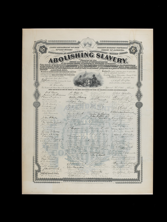Thirteenth Amendment print