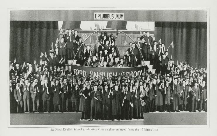 Graduation ceremony, 1916