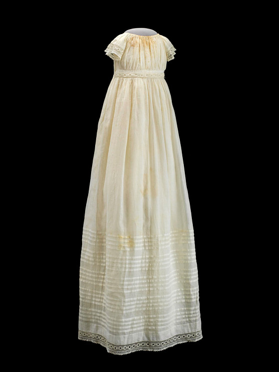 Christening gown made by Elizabeth Keckley, 1866
