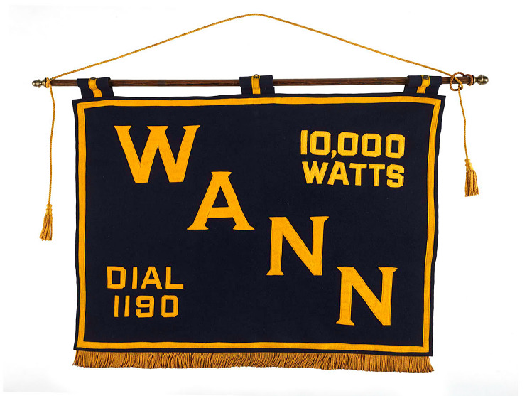 WANN banner, 1950s–1960s