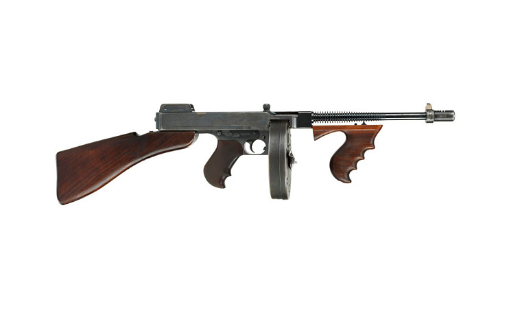 Thompson submachine gun, 1920s