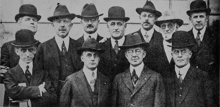 Founding members of the American Association of Advertising Agencies, 1919