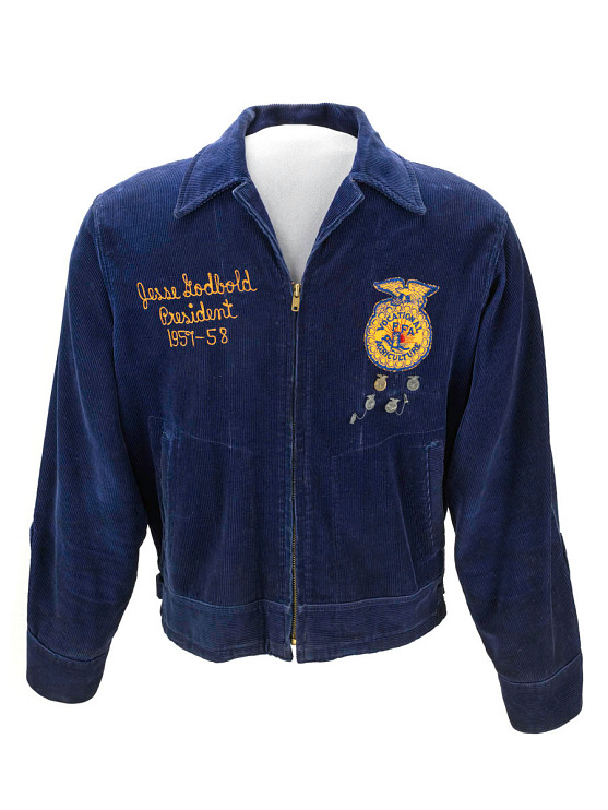 Future Farmers of America (FFA) membership jacket