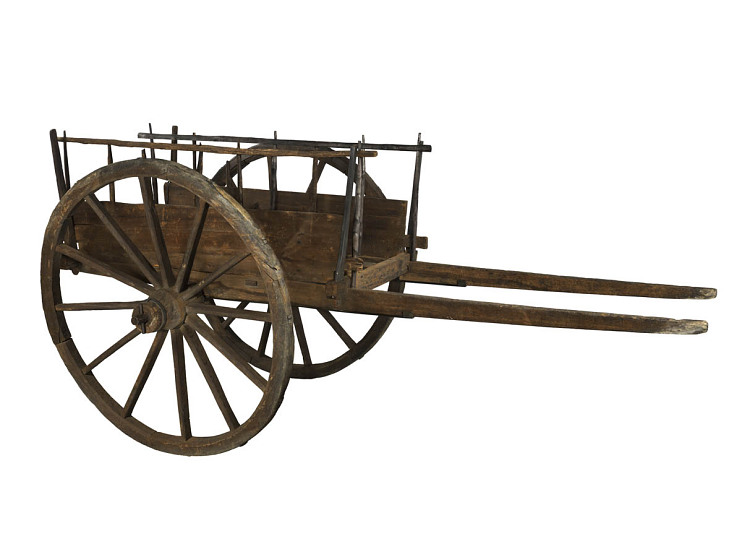 Red River cart, mid-1800s