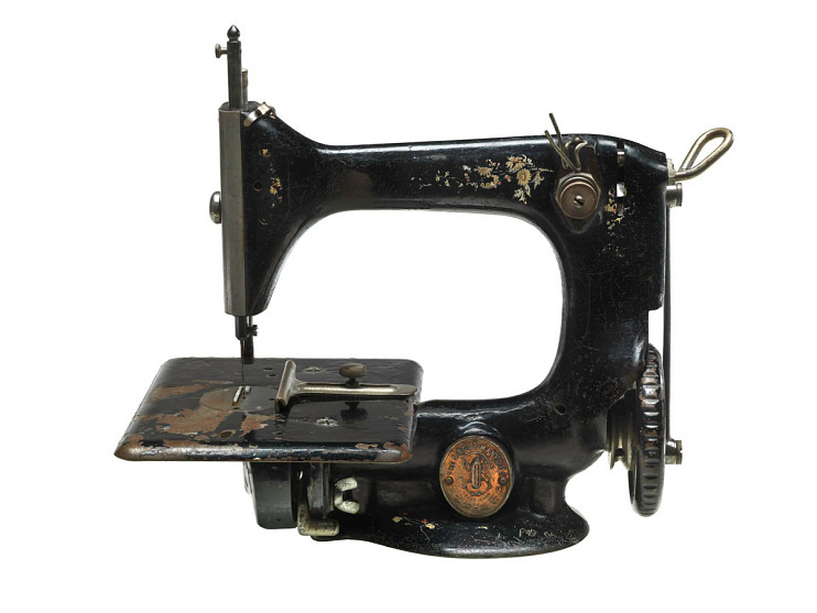 Singer sewing machine patent model, 1851