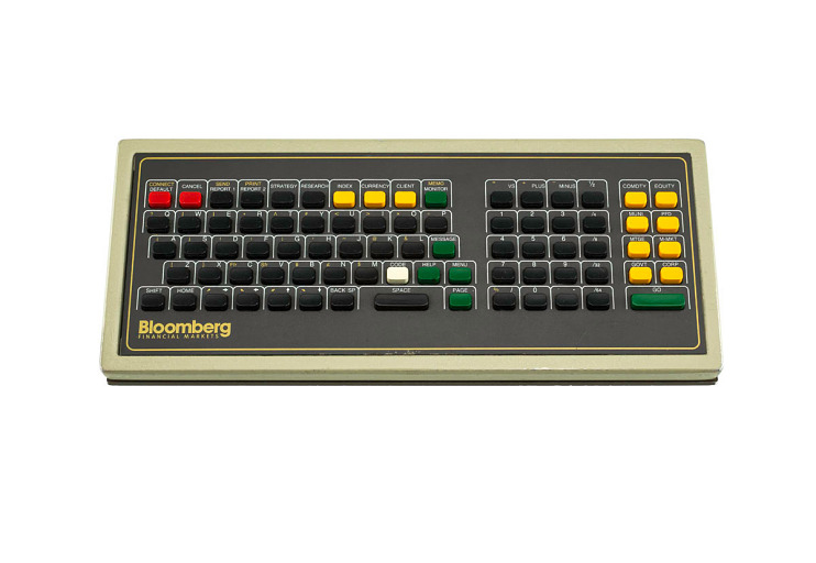 Bloomberg keyboard, about 1987