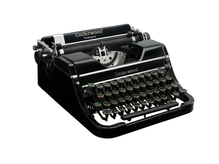 Typewriter, about 1937