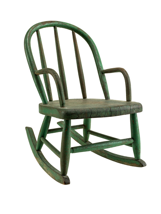 Chair, made by Solomon McWorter, 1800s