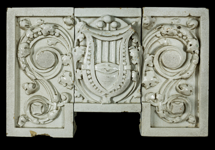 Architectural fragment from Jordan Building, 1917