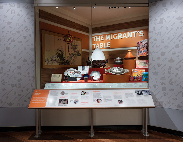The Migrant's Table case