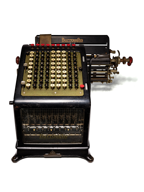 Burroughs adding machine, 1911–1913