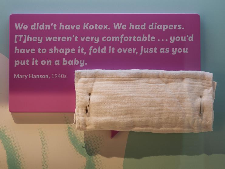 Cotton Diaper, date unknown