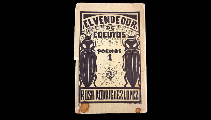 While in Mexico, Luisa Moreno published this poetry book, in 1927.