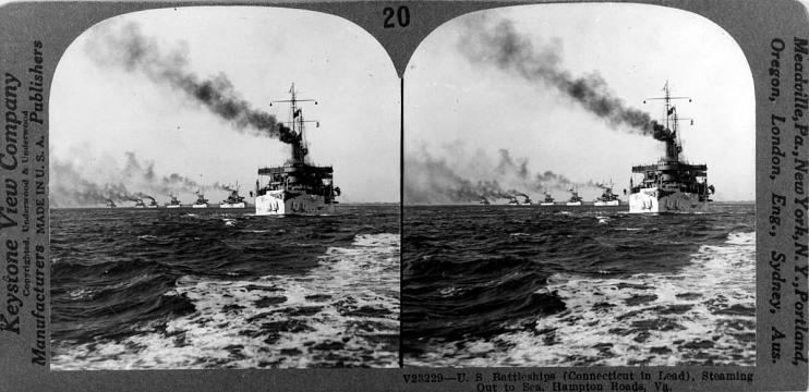 The Great White Fleet, 1907