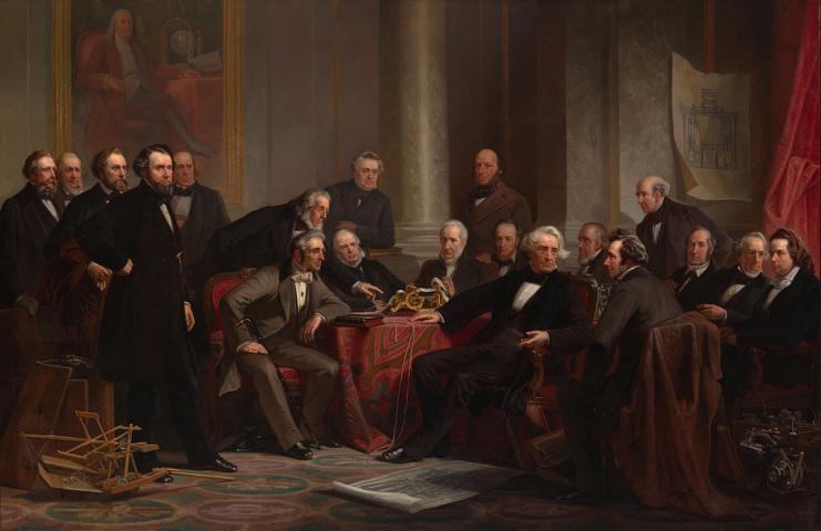 Men of Progress, 1862