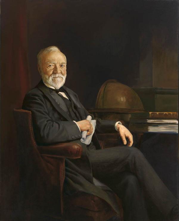 Andrew Carnegie, 1835–1919