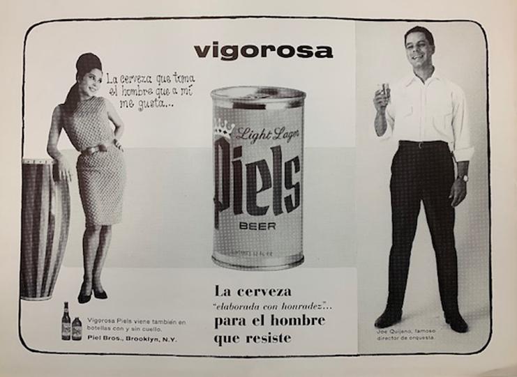 Piels beer advertisement, 1960s