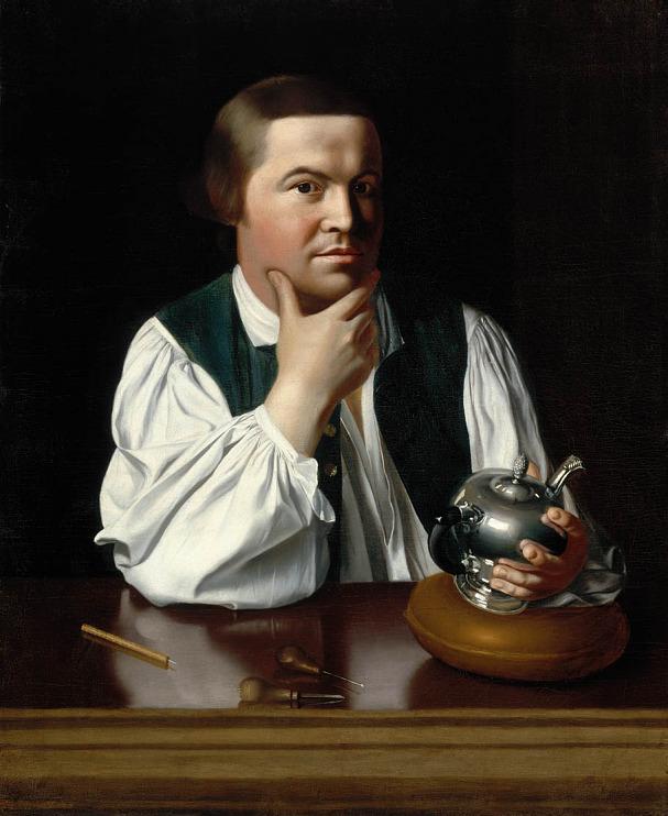 Paul Revere, 1734–1818