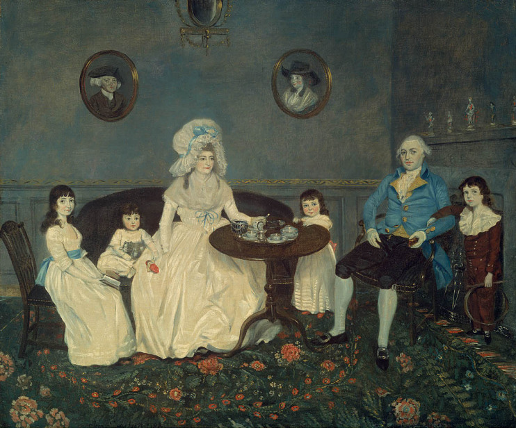 Johann Eckstein, The Samels Family, 1788