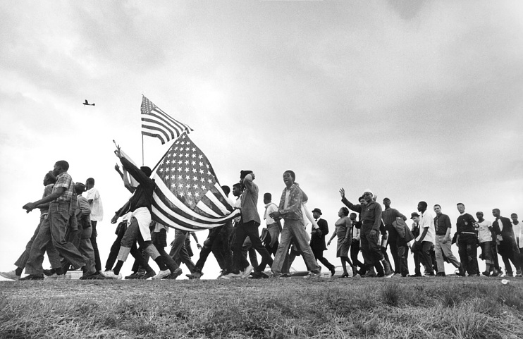 Selma March photograph by Matt Herron, 1965