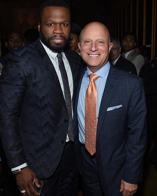 "Power season three premiere—Curtis ""50 Cent"" Jackson, Chris Albrecht"
