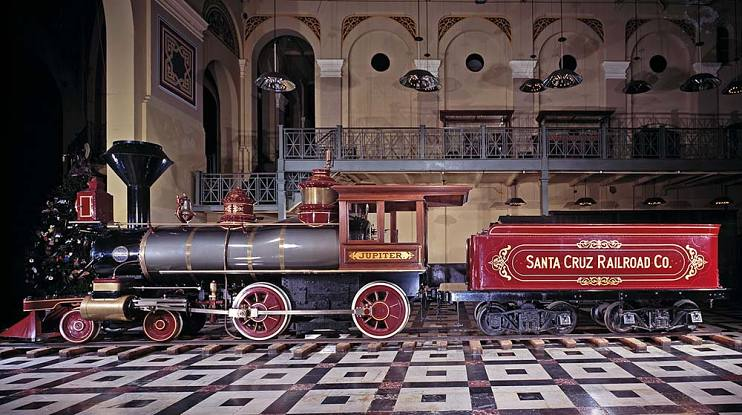 Паровой локомотив «Юпитер», 1876 г.