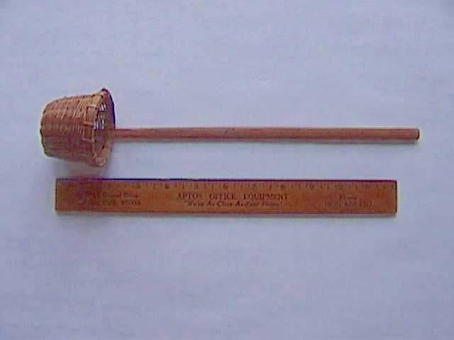 竹杓/滤网,约 1890 年