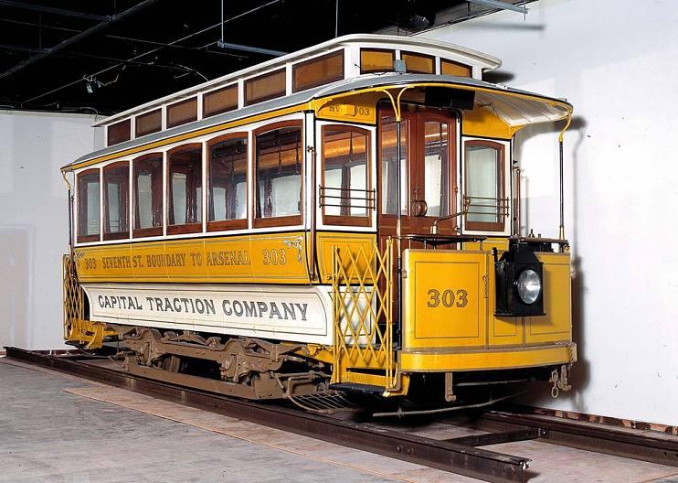 电动有轨电车,1898 年