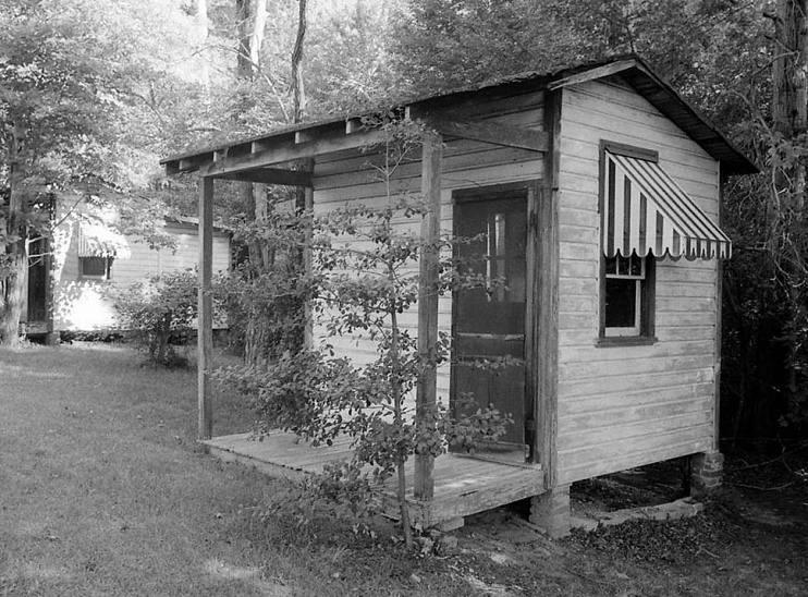 Touristenhütte aus der Anlage Ring's Rest