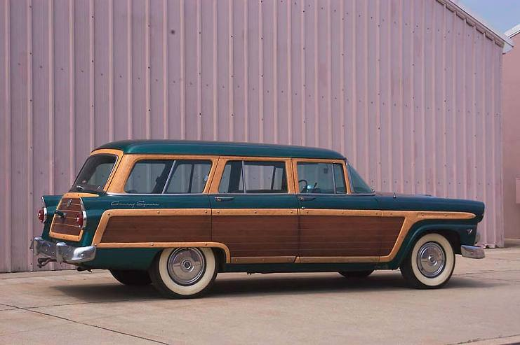 福特乡绅牌旅行车,1955 年