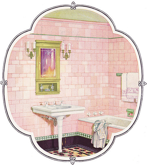 From a catalog of bathroom tiles, 1926