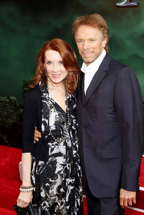 Linda and Jerry Bruckheimer attending the premiere of The Sorcerer's Apprentice, 2010
