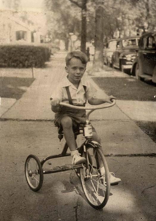 Jerry Bruckheimer as a child in Detroit, circa 1948