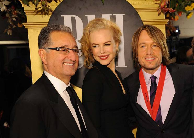 Del Bryant, Nicole Kidman, and Keith Urban at the 2008 BMI Country Music Awards