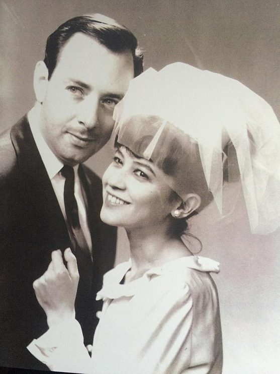 Don and wife Maggie on their wedding day, September 1965