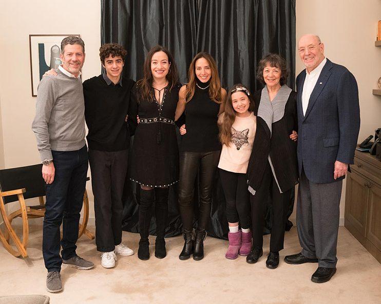 Left to right, son-in-law Joe Gatta, grandson Sebastian Gatta, daughters Laura and Julia, granddaughter Scarlett Gatta, wife Maggie, and Don in Paris, 2016