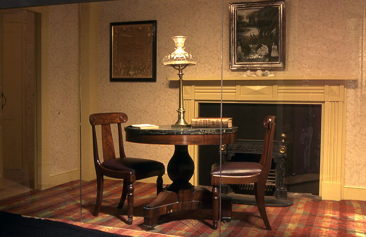 The Caldwell parlor
