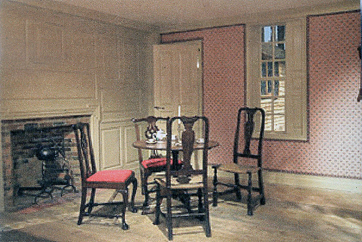 The Choate parlor