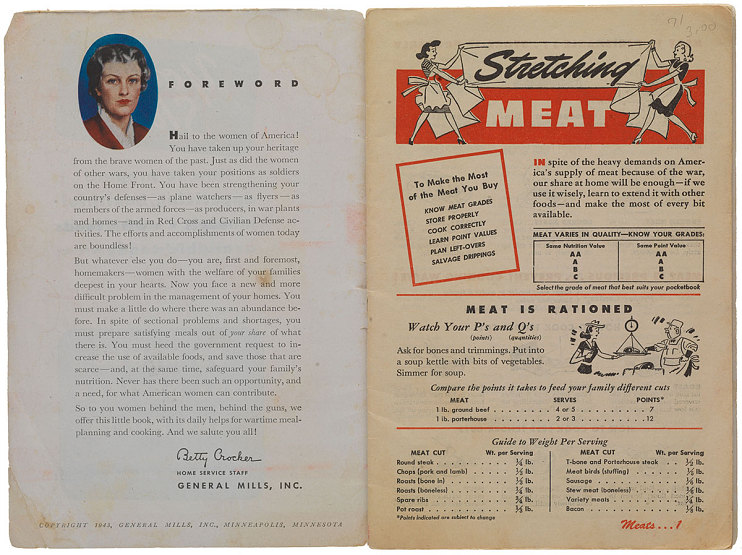World War II cookbook