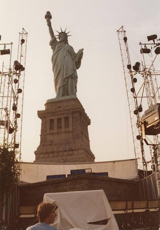 Audience view of the Statue of Liberty, 1983