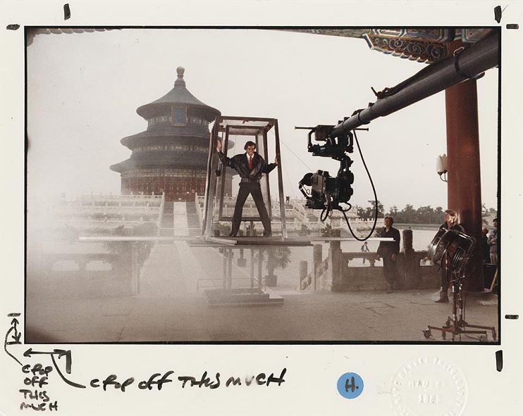 Filming at the Temple of Heaven, Beijing, China