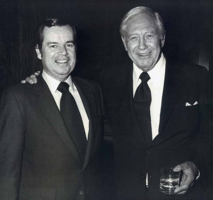 Bob Daly and William Paley
